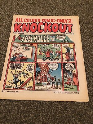 Knockout. 4 March 1972