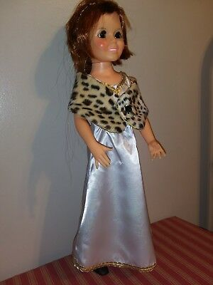 """"""" Evening Glamor """" OOAK Outfit For Your Vintage Ideal Crissy Doll 4 pieces"""