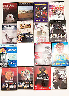 Job Lot of 33 DVD's Some Sealed and 5 CD's