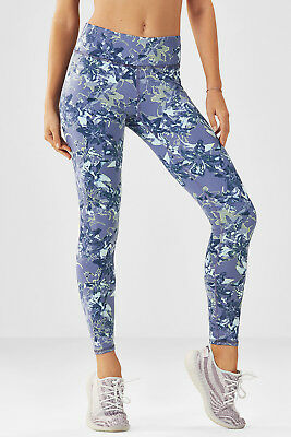 2d0bc6d6942415 SOLD OUT NWT Fabletics Salar Linear Lily PowerHold Legging 7/8 XS Retail  $79.95