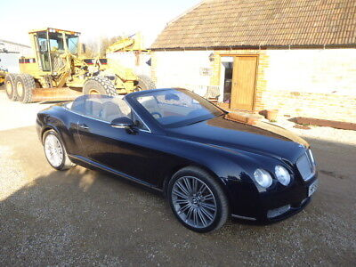 Bentley Continental Gtc Auto Convertible Year 2007 Done 70350 Miles Moted
