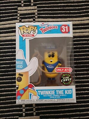 Funko Pop! Ad Icons: Twinkie the Kid Glow Chase #31 Ad Icon Target Exclusive