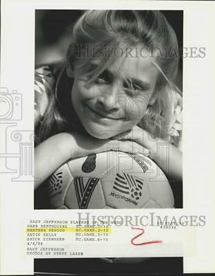 1994 Press Photo East Jefferson Player of the Week Heather Penico in Louisiana