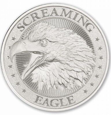 American Screaming Eagle Harley Davidson 1 oz .999 Silver High Relief Round