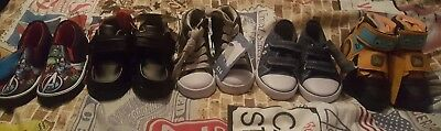 Job Lot Of 5 New Pairs Of Boys Childrens Shoes Trainers Size 8 And 9