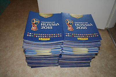 Panini FIFA World Cup Russia 2018 Sticker Collection Albums EMPTY x 180 JOB LOT