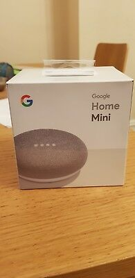 Google Home Mini Chalk with Voice Activated Wireless Speaker