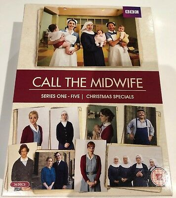 Call The Midwife Series 1-5/ Christmas Specials Dvd