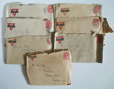 7 YMCA WWI 1917 Irish Officers Training Corps Cadet's Love Letters to his Wife