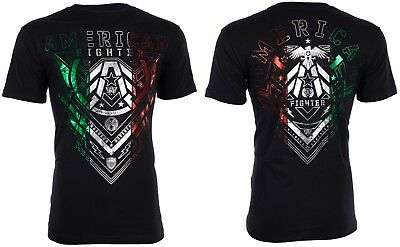 AMERICAN FIGHTER Mens T-Shirt KENDLETON Athletic MEXICO COLORS Biker Gym UFC $40