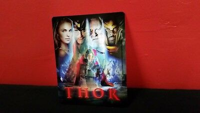 THOR - 3D Lenticular Magnetic Cover / Magnet for BLURAY STEELBOOK
