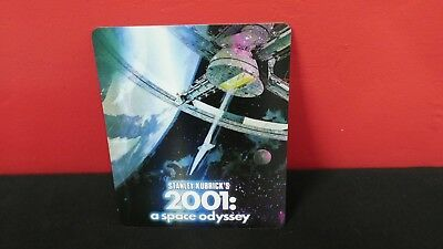 2001 A SPACE ODYSSEY 3D Lenticular Magnet / Magnetic Cover for BLURAY STEELBOOK