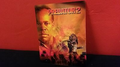 PREDATOR 2 - 3D Lenticular Magnetic Cover / Magnet for BLURAY STEELBOOK