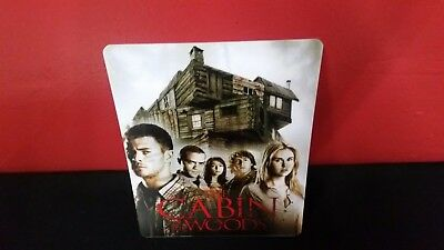 CABIN IN THE WOODS - 3D Lenticular Magnetic Cover / Magnet for Bluray Steelbook