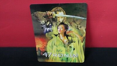 47 RONIN - 3D Lenticular Magnetic Cover / Magnet for Bluray Steelbook