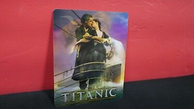 TITANIC - 3D Lenticular Magnet / Magnetic Cover for BLURAY STEELBOOK