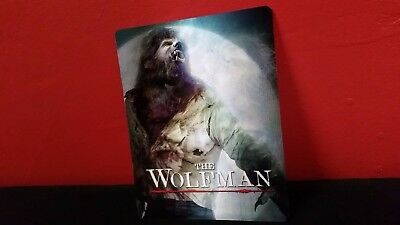 THE WOLFMAN - 3D Lenticular Magnet / Magnetic Cover for BLURAY STEELBOOK