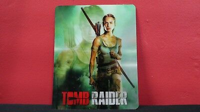 TOMB RAIDER (2018)  - 3D Lenticular Magnetic Cover Magnet for BLURAY STEELBOOK
