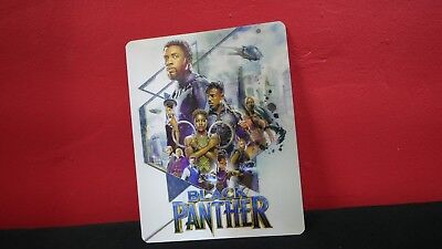BLACK PANTHER - 3D Lenticular Magnetic Cover Magnet for BLURAY STEELBOOK