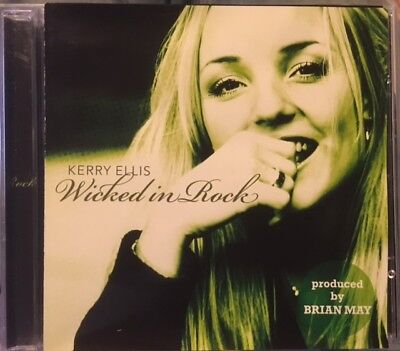 Kerry Ellis Wicked In Rock Cd Defying Gravity Brian May Rare