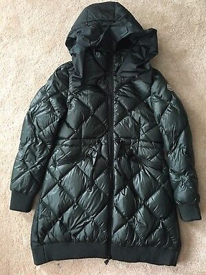 9b0126ea31a9 MONCLER DOWN JACKET   Size  2   Nylon   KHK  Ladies  Wear  -  336.00 ...