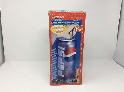 Motorized Pepsi Can Power Coin Sorter In Box