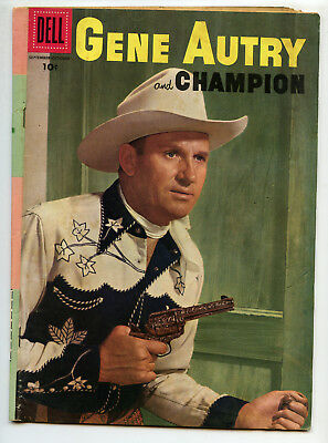 JERRY WEIST ESTATE: GENE AUTRY & CHAMPION #111 (Dell 1956) NO RES