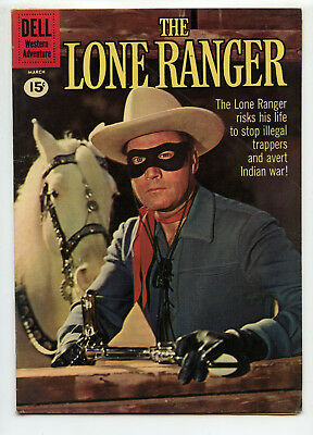 JERRY WEIST ESTATE: THE LONE RANGER #138 (Dell 1961) VG+ condition NO RES