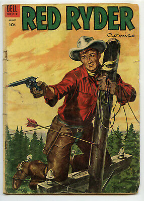JERRY WEIST ESTATE: RED RYDER #133 (Dell 1954) NO RES