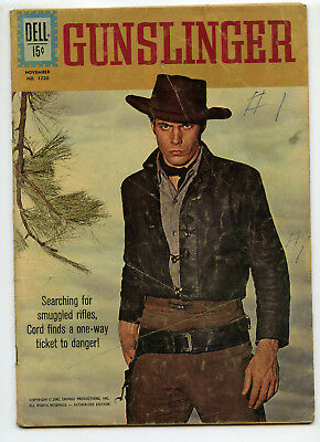 JERRY WEIST ESTATE: FOUR COLOR COMICS #1220 GUNSLINGER (Dell 1961) NO RES