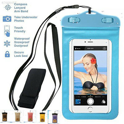 1CE4 Waterproof Underwater Swim Drifting Cell Phone Dry Bag Armband Case Cover