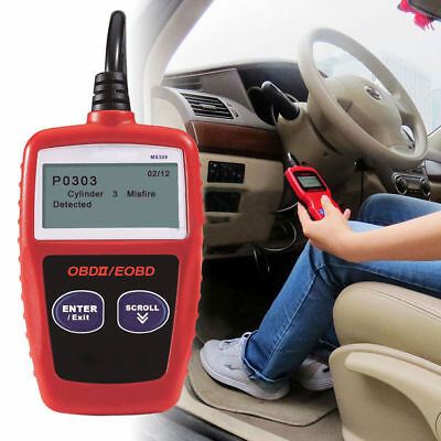 MS309 Handheld Vehicle Detector DiagnosticTester Car Diagnostic Tool supply