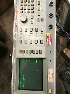 HP 8756A Scalar Network Analyzer Hewlett Packard with cords