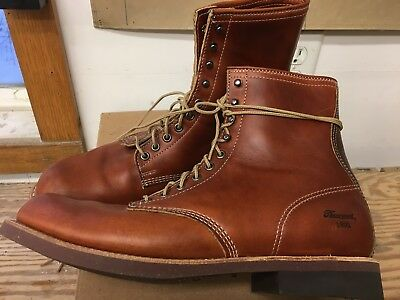 863e46c707e THOROGOOD 1892 TOMAHAWK Boots Size 11 Horween Chromexcel Leather Made In USA