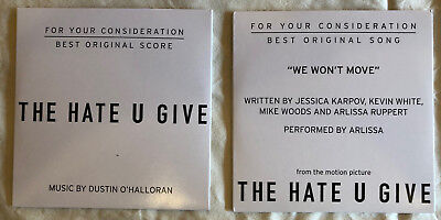 The Hate You Give - FYC Score and Song CDs