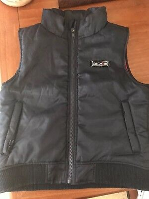 Charlie&Me Boys Puffer Vest - Size 5 Preloved in very good condition