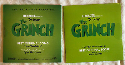 The Grinch - FYC Score and Song CDs