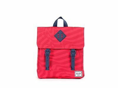 Herschel Supply Co. Survey Kid Backpack, Red Shift/Navy, One Size