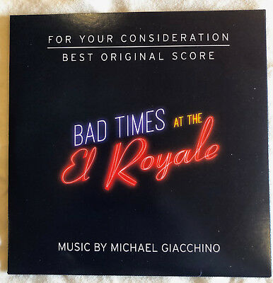 Bad Times at the El Royale - FYC Score by Michael Giacchino