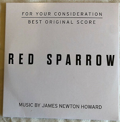 Red Sparrow - FYC Score by James Newton Howard