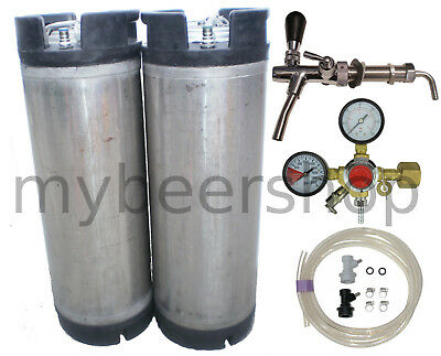 Pro Balllock Kegging Kit Regulator Home Brew Beer Keg Cornelius System Kegerator