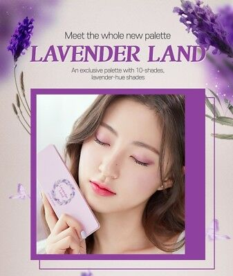 ETUDE HOUSE - PLAY COLOR EYES LAVENDER LAND ( Eyeshadow Palette - KOREA Genuine)