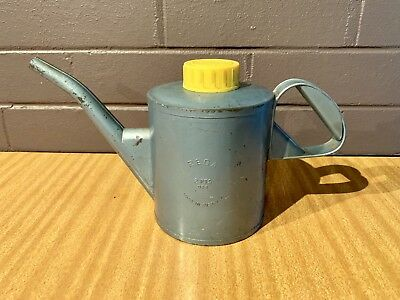 Vintage Rega Oil Tin Can Made In Australia
