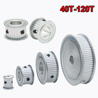 3M 40T-120T Timing Belt Pulley Synchronous Wheel Gear For 15mm Width Belt New