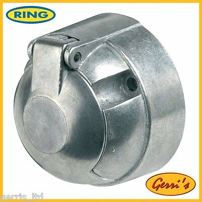 Ring Heavy Duty 12N 7 Pin Metal Socket (c/w fog cut out)