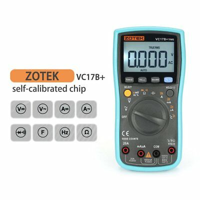 ZOTEK VC17B+ 6000 Counts True-RMS Digital Multimeter Auto Range AC/DCMeter