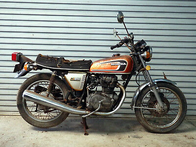 Honda Cb360T Suitable For Restoration Or Parts. Year 1975.