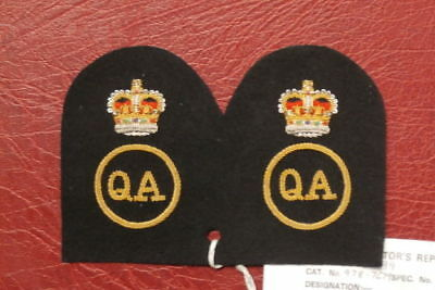 Sealed Pattern , Wrns Quarter Assistant Badge (269) Pair