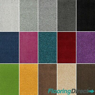 Quality Feltback Twist Carpets - Bedroom Lounge - Any Size Roll - CHEAP