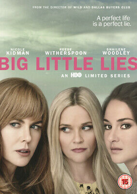 Big Little Lies DVD (2017) Reese Witherspoon ***NEW***